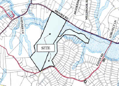 Sycamore Hills subdivision site