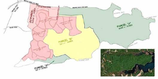 CN parcels map